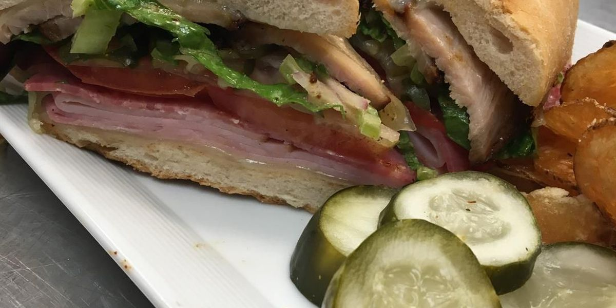 Cleveland's The Great Room serves up golden brown Greek Cuban sandwiches (recipe)