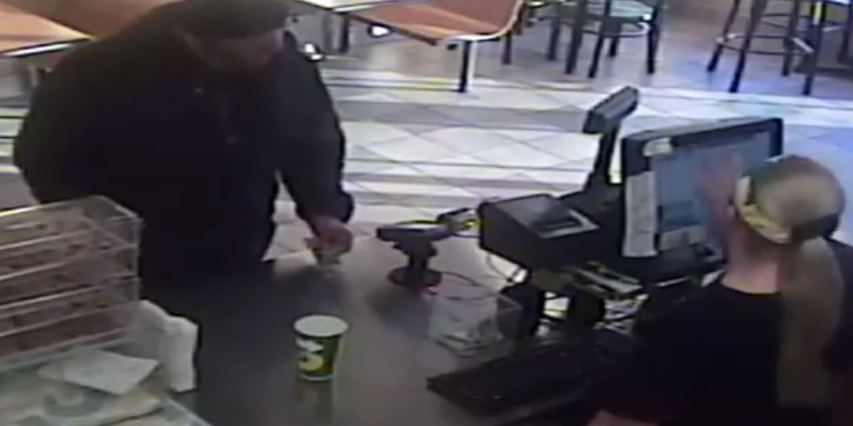 Elyria Police asking public's help in tracking down Subway robber (VIDEO)
