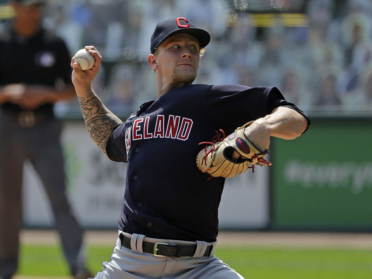 Cleveland Indians send pitcher Zach Plesac to Cleveland after violating team's rules and leagues health and safety protocols