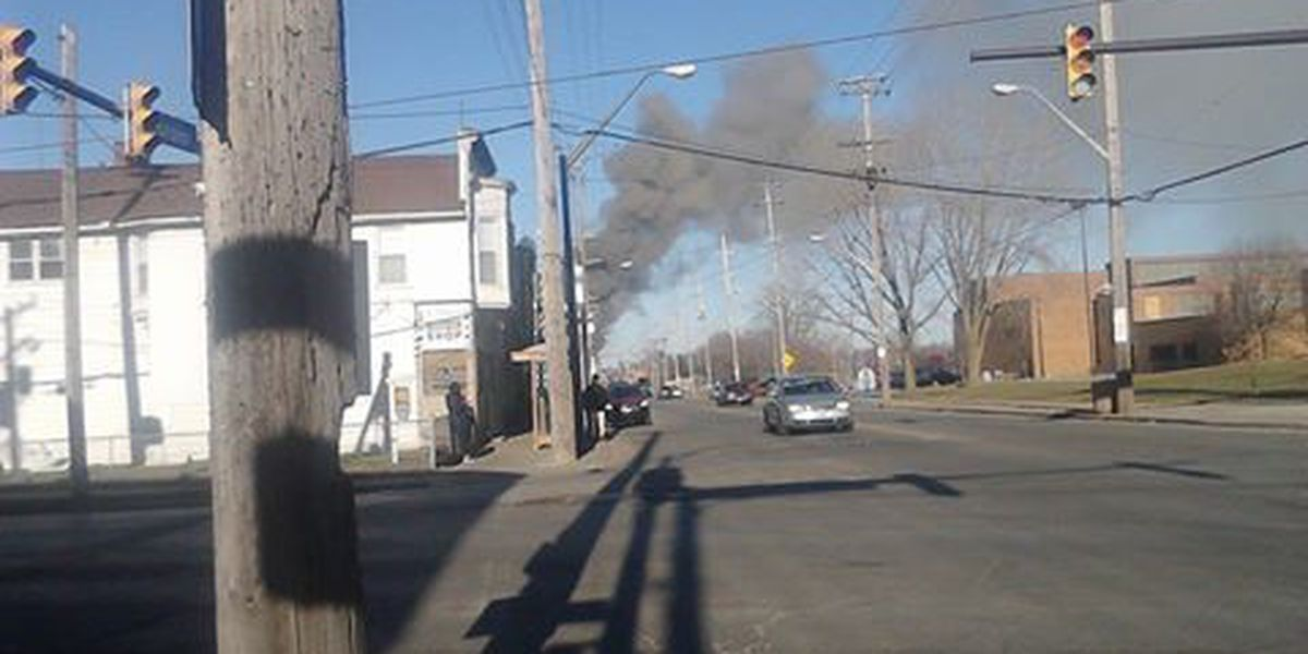 Grease Fire: Cleveland landmark goes up in flames