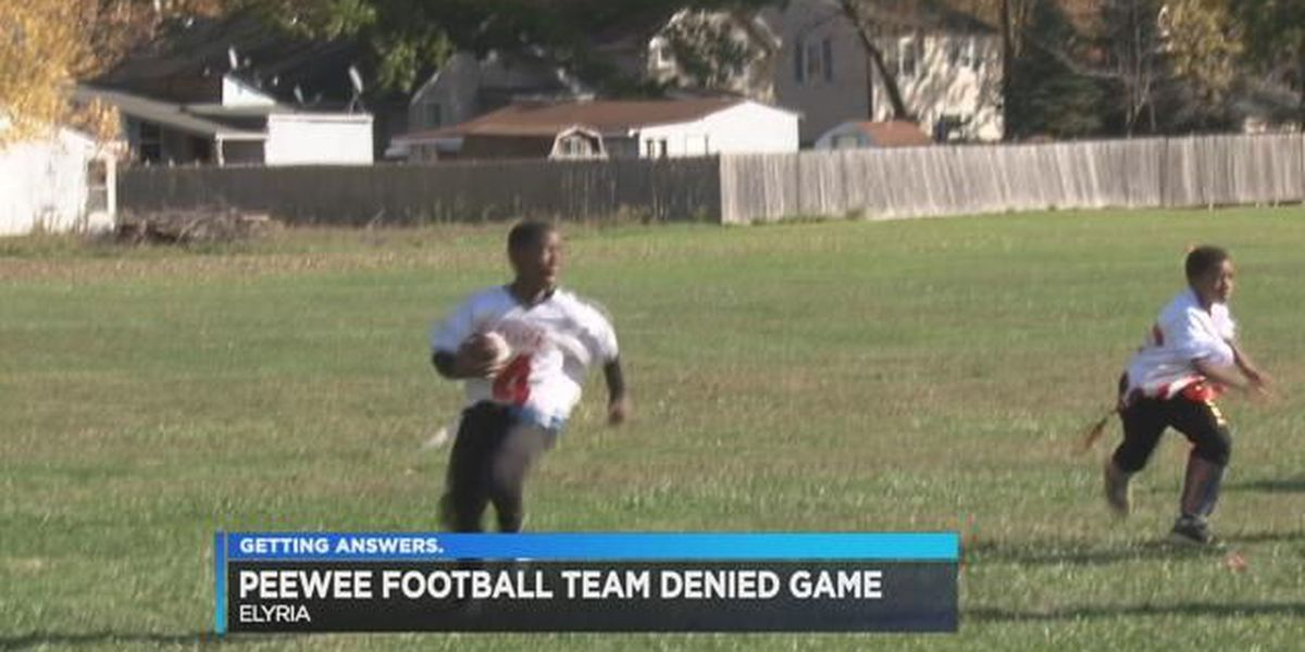 Pee wee football player punched by opposing coach, parents say