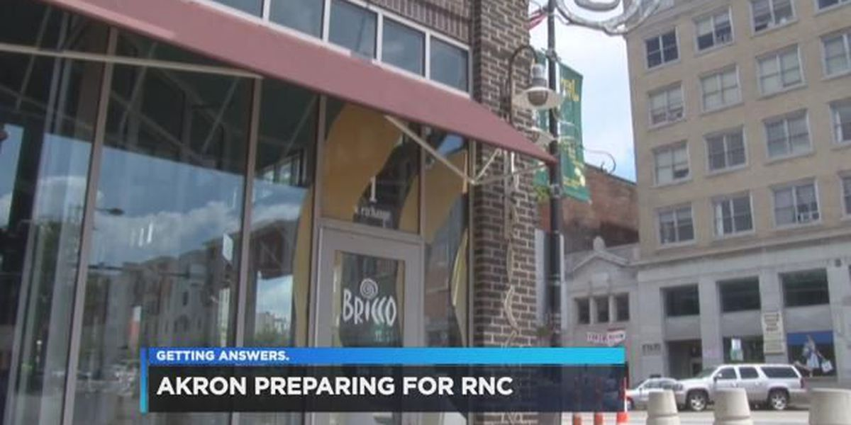 Akron city officials ready for RNC guests