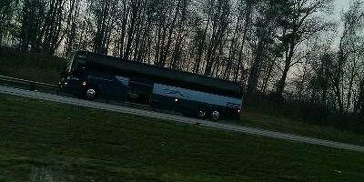 Incident onboard Greyhound bus leads to I-90 closure