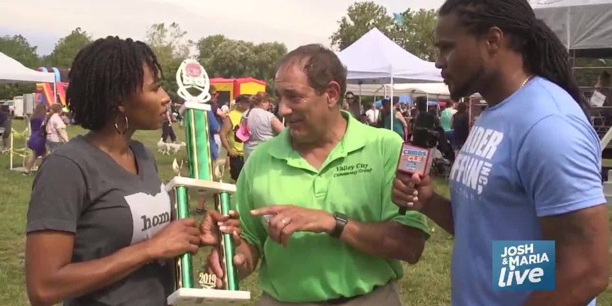 Road Trip: Josh and Maria compete for Valley City Frog Jump title