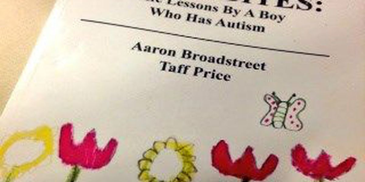 Writer with autism gives life lessons in new book