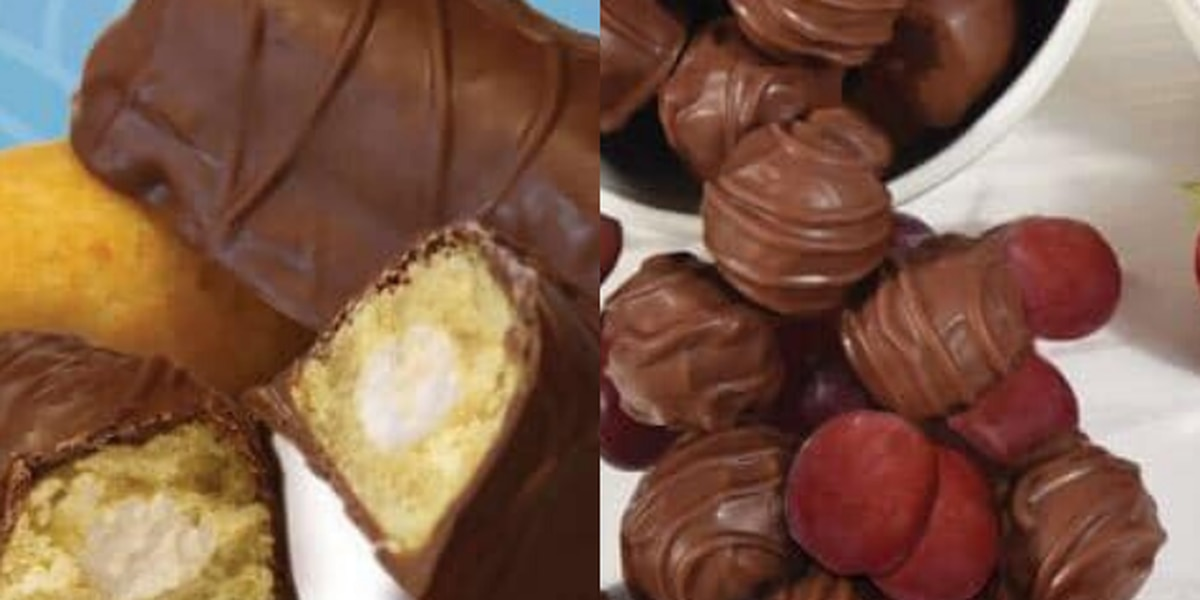Chocolate-covered grapes and Twinkies are available at Malley's for Sweetest Day