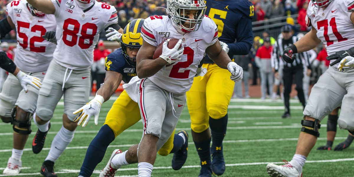 Ohio State defeats Michigan 56-27 behind J.K. Dobbins 4 touchdowns