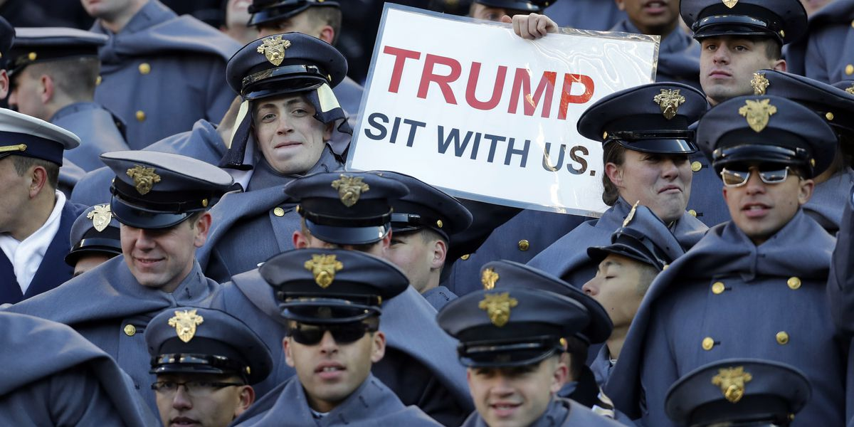Political football: Trump to handle coin toss at Army-Navy