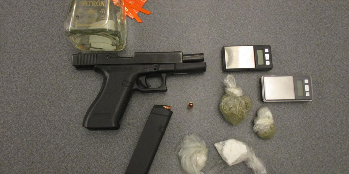 'Dangerous and intoxicated' driver with gun, drugs, and alcohol arrested in Richmond Heights