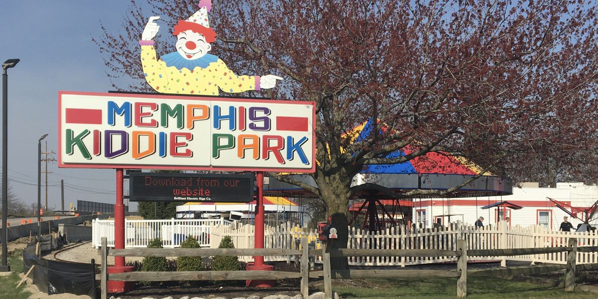 Memphis Kiddie Park readies their rides for the 1st time in 18 months