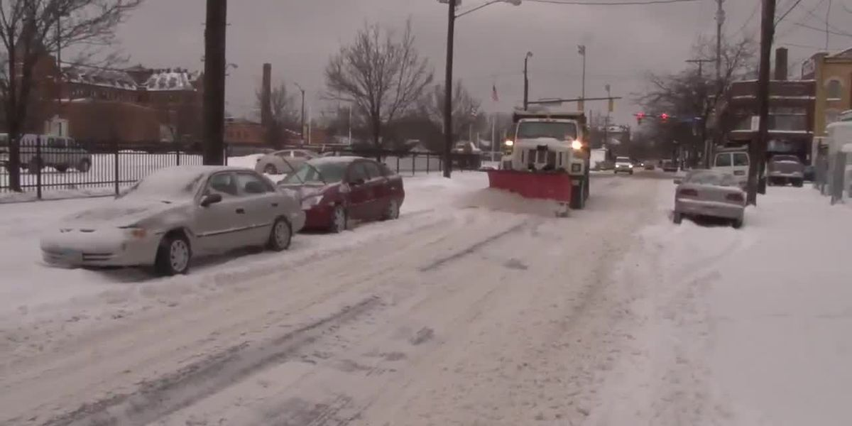 Snow plow operators urging parents to play close attention