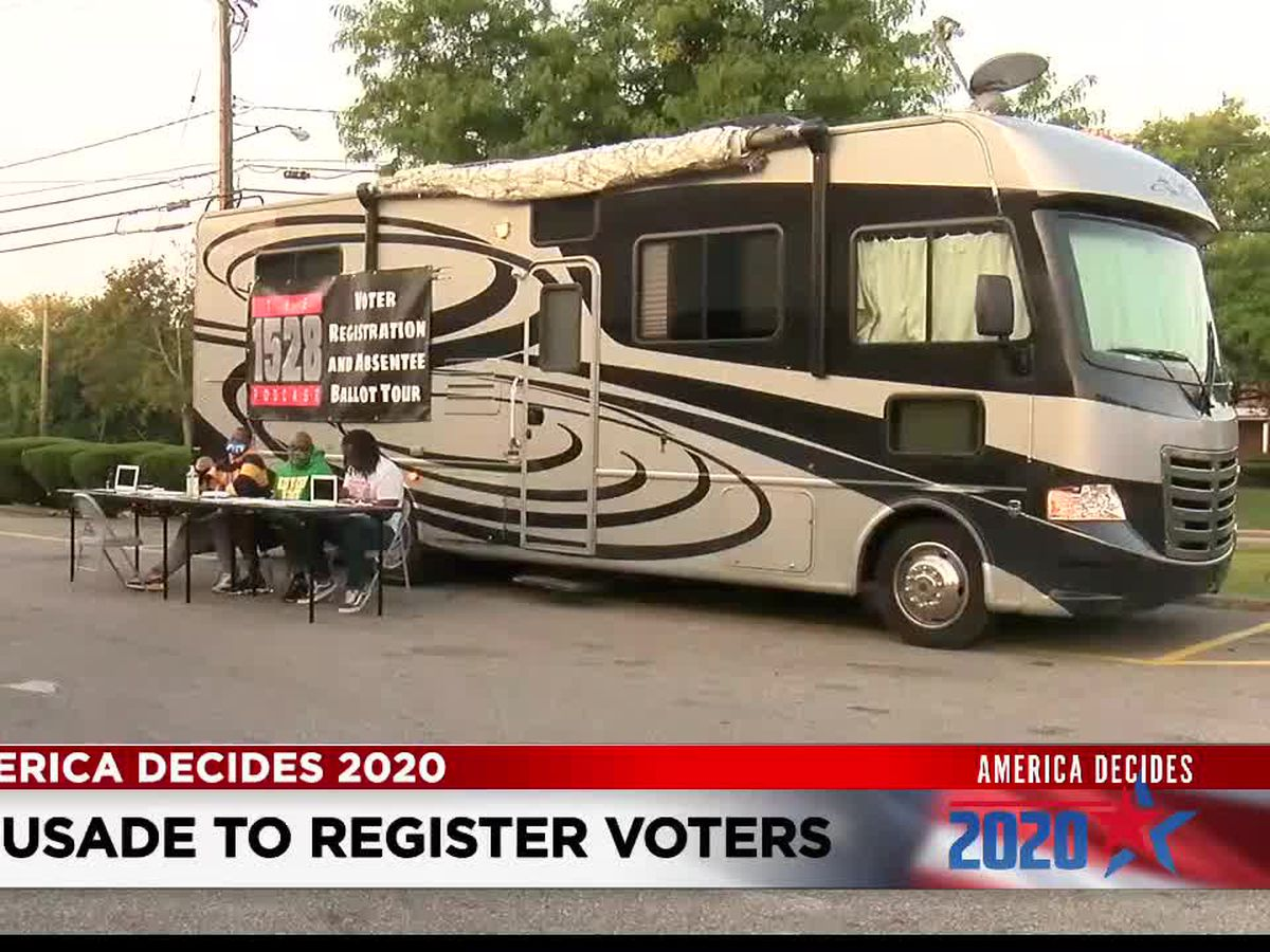 Group doing voter registration tour makes stops in Northeast Ohio