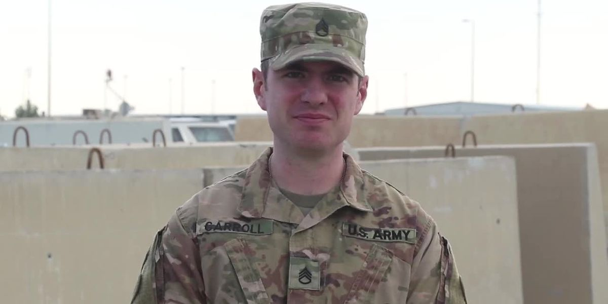 Staff Sgt. Andrew Carroll of Akron, OH