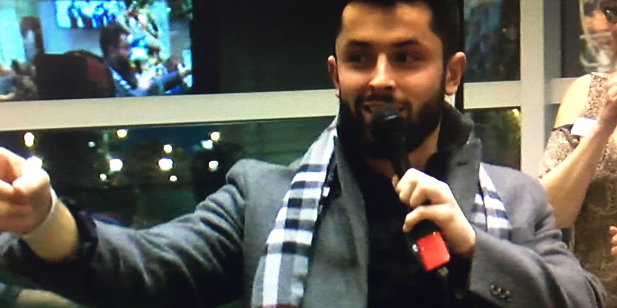 Baker Mayfield steals the show at Providence House fundraiser