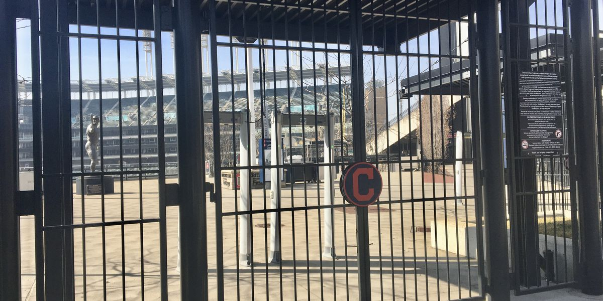 As Cleveland Indians' home opener approaches, they have a safety plan to welcome back fans