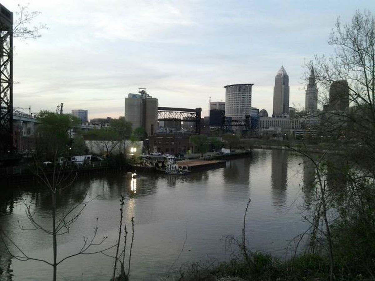 Ohio EPA says fish caught in Cuyahoga River are safe to eat again