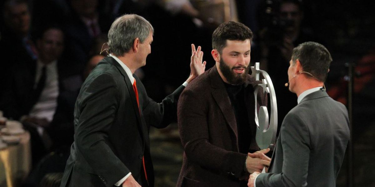 Best moments as Baker Mayfield and Sandy Alomar Jr. headline Greater Cleveland Sports Awards