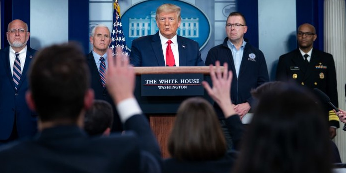 Medidas de Trump contra el virus corona: ¡Tu opinión cuenta!