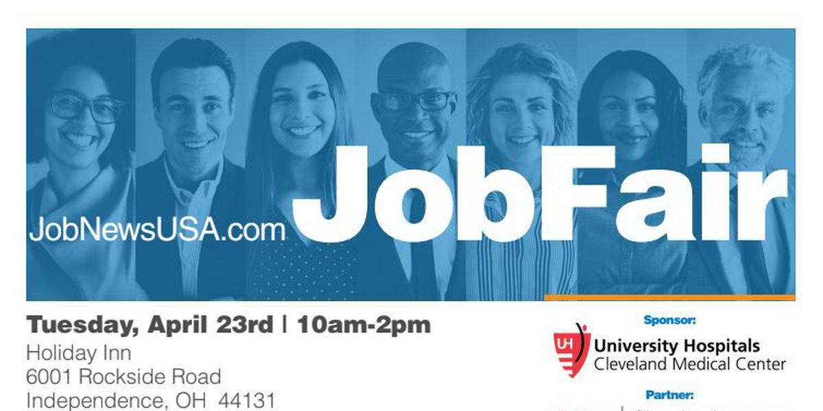 University Hospitals is sponsoring a job fair Tuesday, April 23