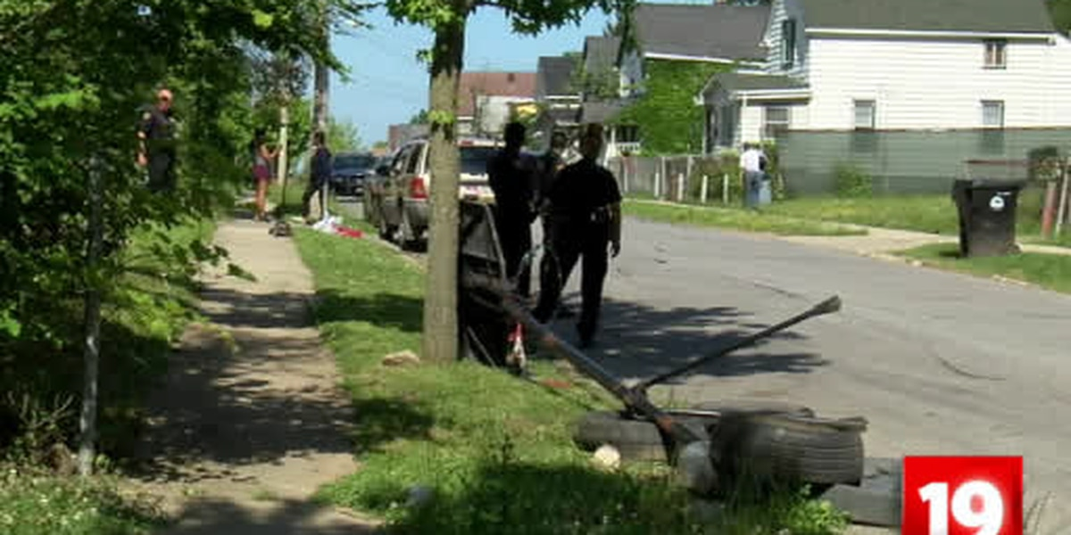 Child pinned under vehicle after being struck by car on Cleveland's East side