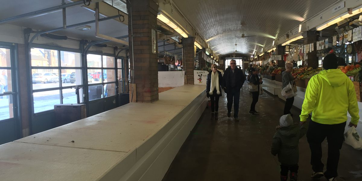 Wide open spaces at the West Side Market, vendors worry about the future