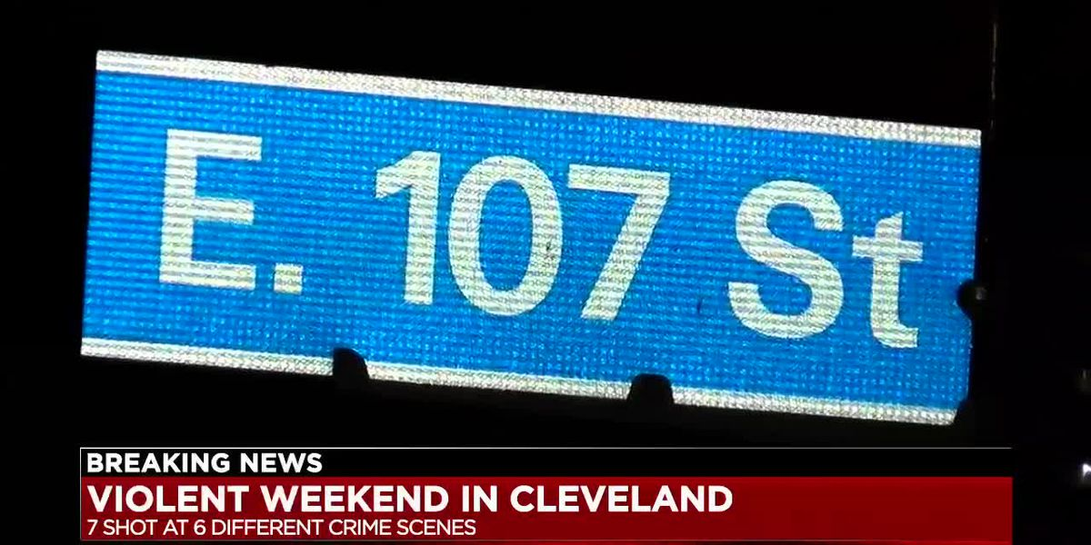 Violent night in Cleveland has police investigating 1 homicide, 7 other shootings overnight and Saturday; leaving residents worried about their safety