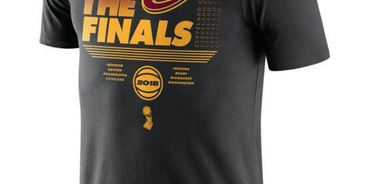 Cleveland Cavaliers' Finals gear is on sale now