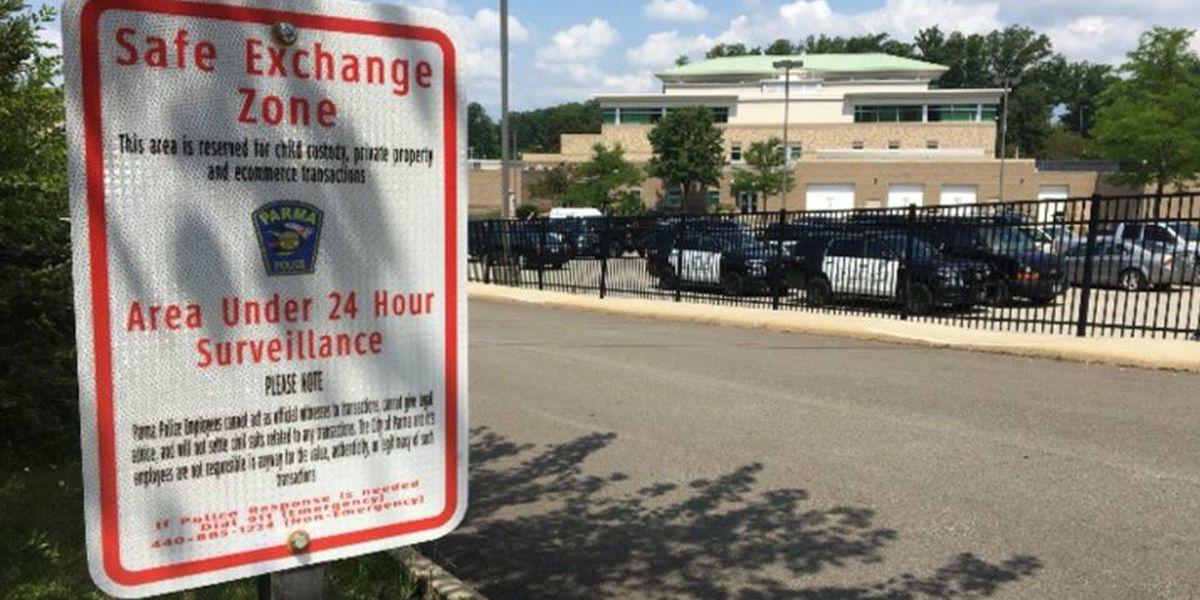 "Parma Police establish ""Safe Exchange Zone"""