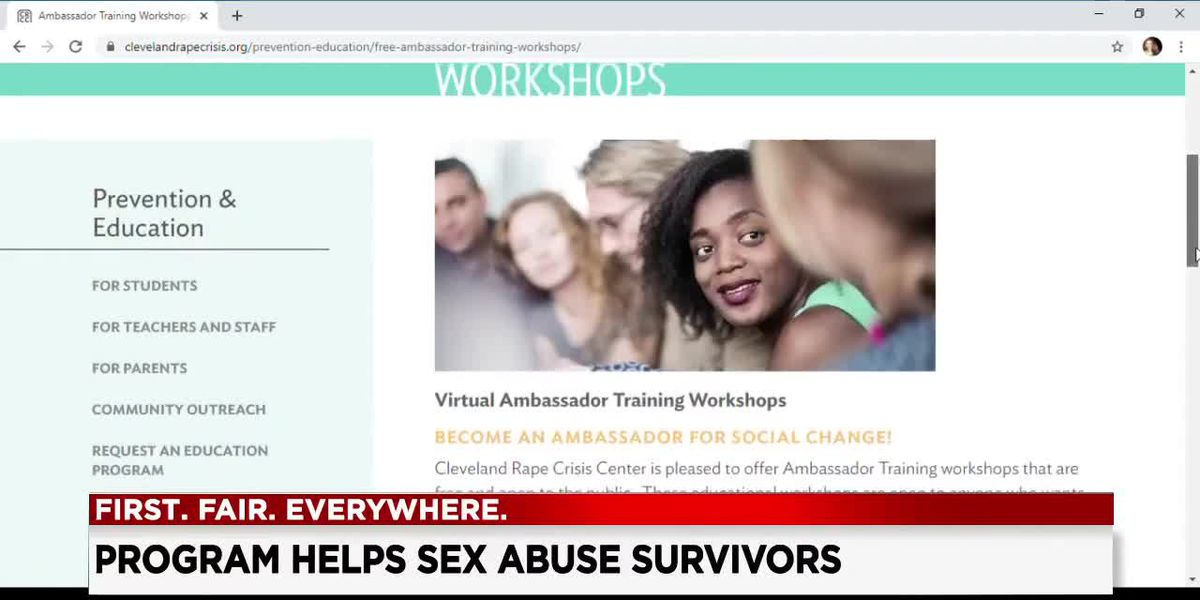 With hotline and counseling calls on the rise, Cleveland Rape Crisis Center offers free ambassador training