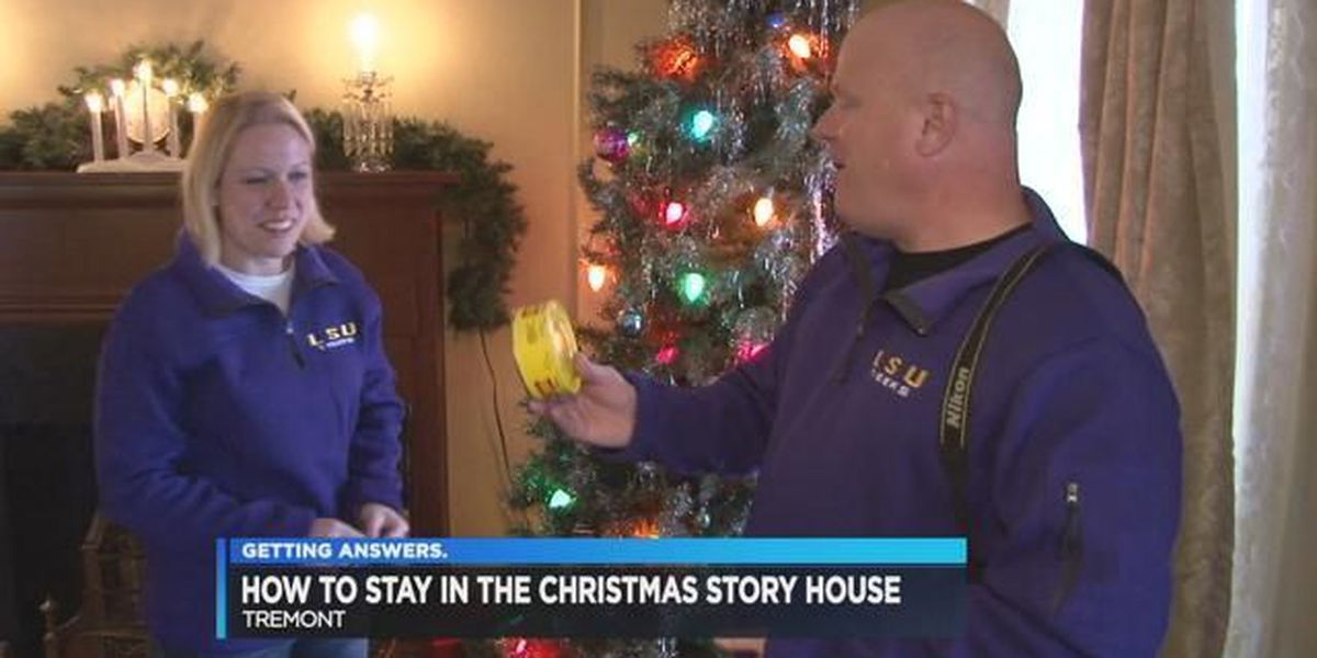 How to win an overnight stay at the Christmas Story House