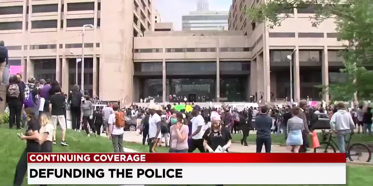 Black Lives Matter Cleveland says 'Defund the Police' rooted in racial equality and support of social services