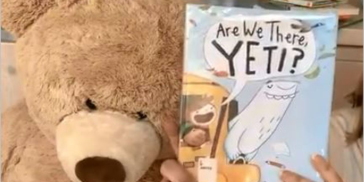 Read 'Are we there, Yeti?' on 'Story Time with Jamie Sullivan'