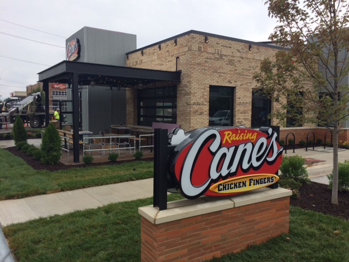 Raising Cane's location in Lakewood to open in September