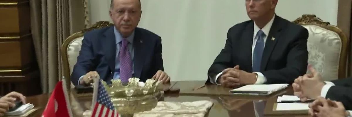 US and Turkey agree to ceasefire in Syria