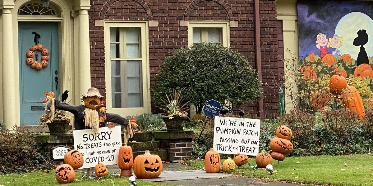 "Halloween different this year for street billing itself as ""Scare-borough"""