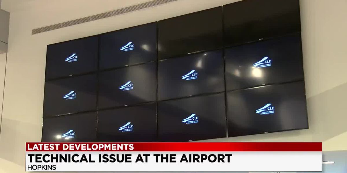 Technical issues at Cleveland Hopkins International Airport still under investigation