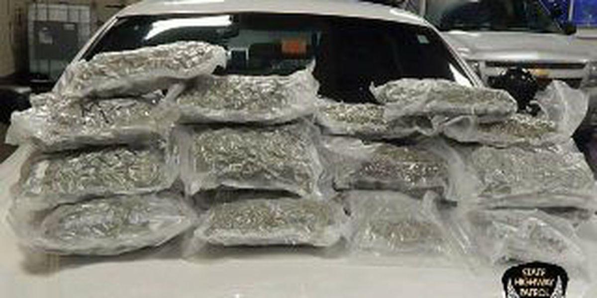 32 pounds of marijuana seized on the Ohio Turnpike