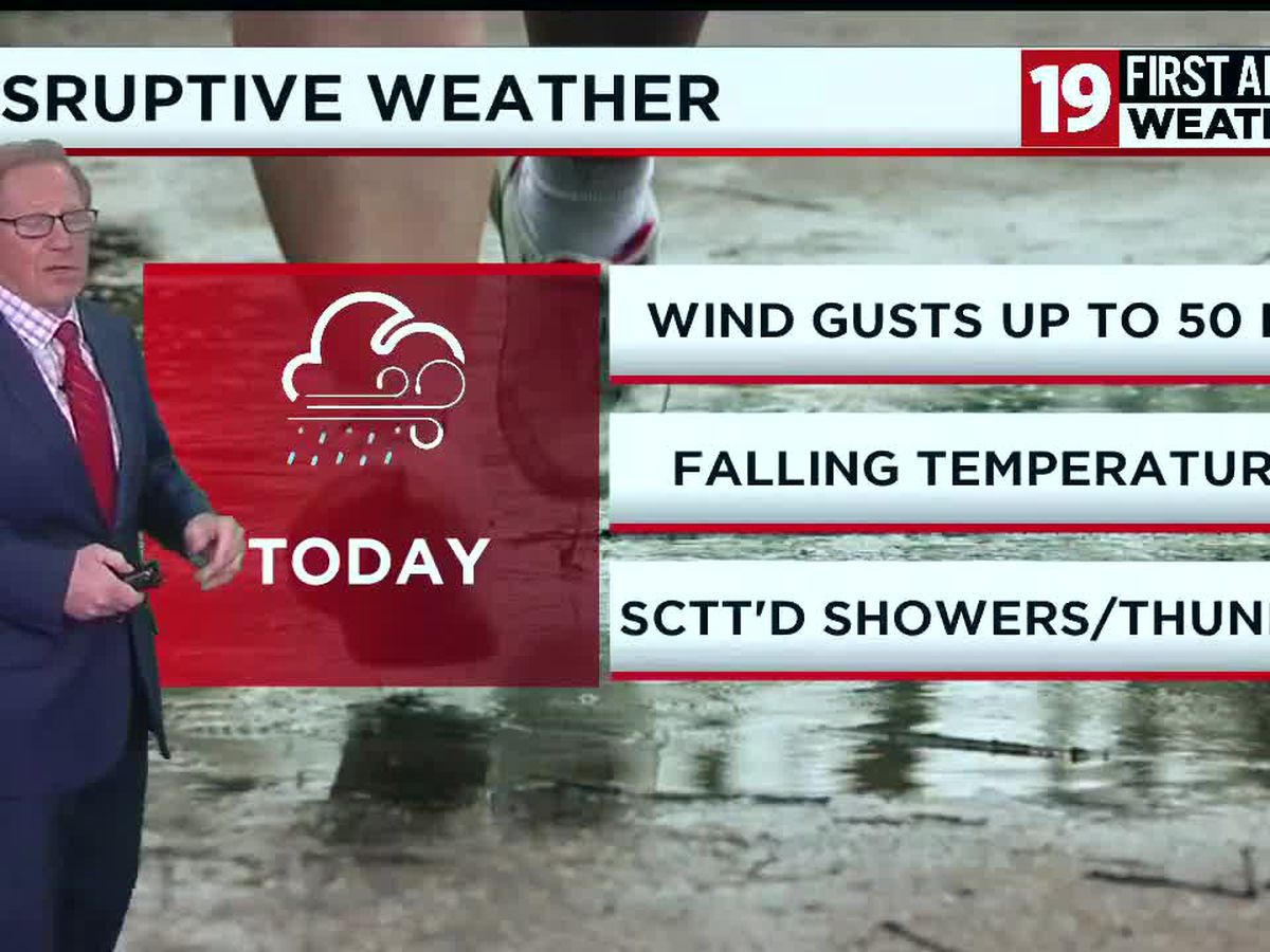 Northeast Ohio weather: Windy Sunday night with dropping temperatures