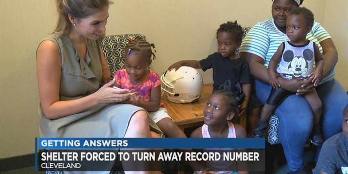 Cleveland crisis center reports more women, children in need of shelter in summer