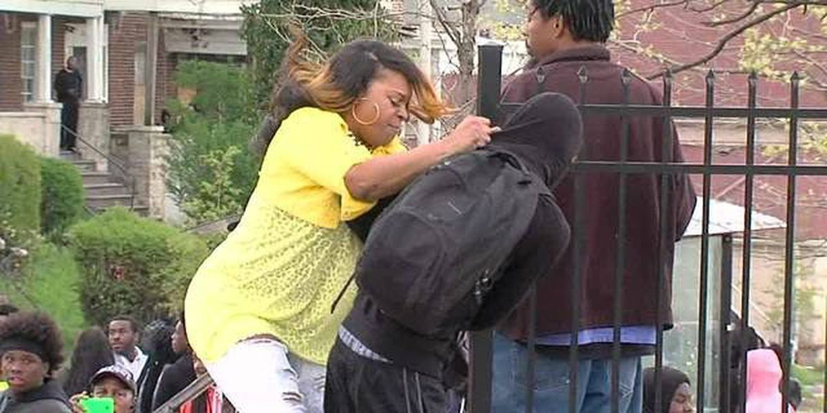 Cleveland parents react to video of Baltimore mother hitting son at riots