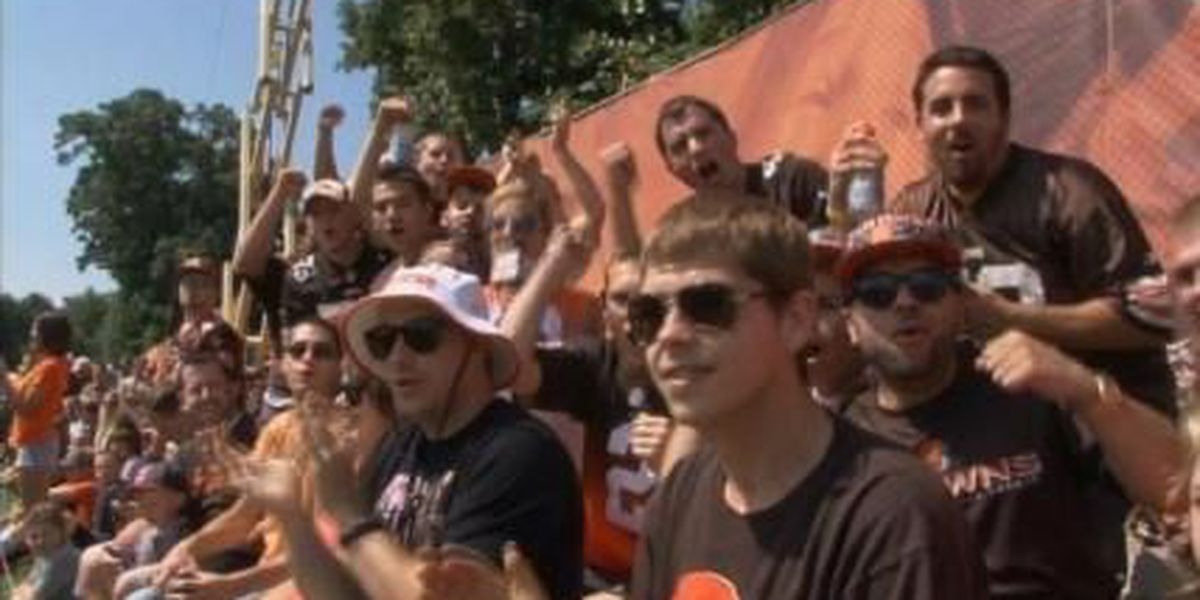 Browns fans fired up for the new season
