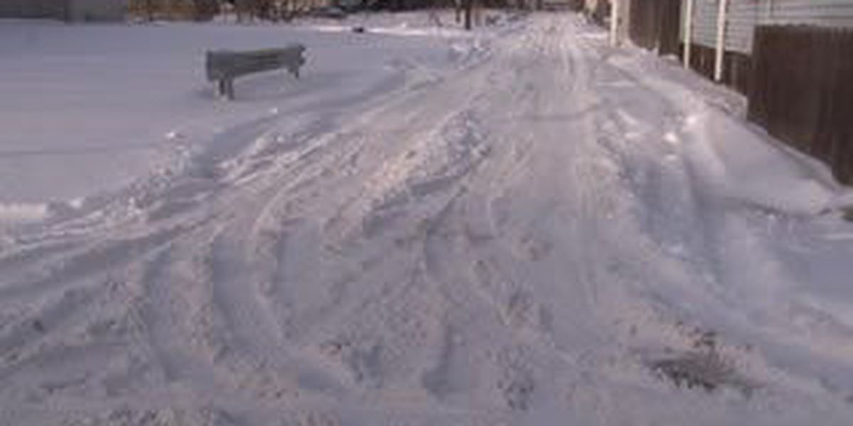 Send in the Plows! West side streets untouched after latest snowfall