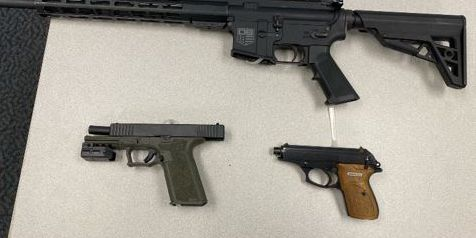 3 weapons found inside car during Akron traffic stop