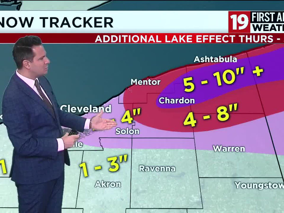 19 First Alert Weather Day: Snow overnight, travel impacts
