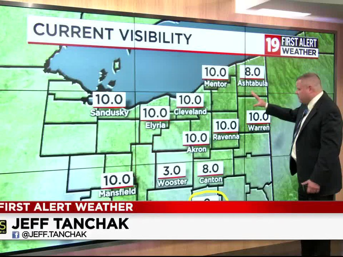Northeast Ohio weather: Cooler pattern continues into Friday