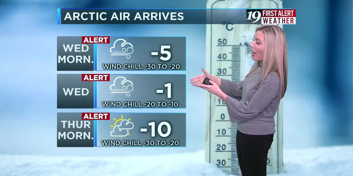 Northeast Ohio Weather: Strong system moves in Monday before arctic air arrives