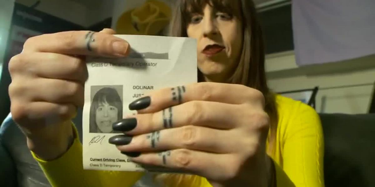 Transgender woman says driver's license office in Utah forced her to remove makeup
