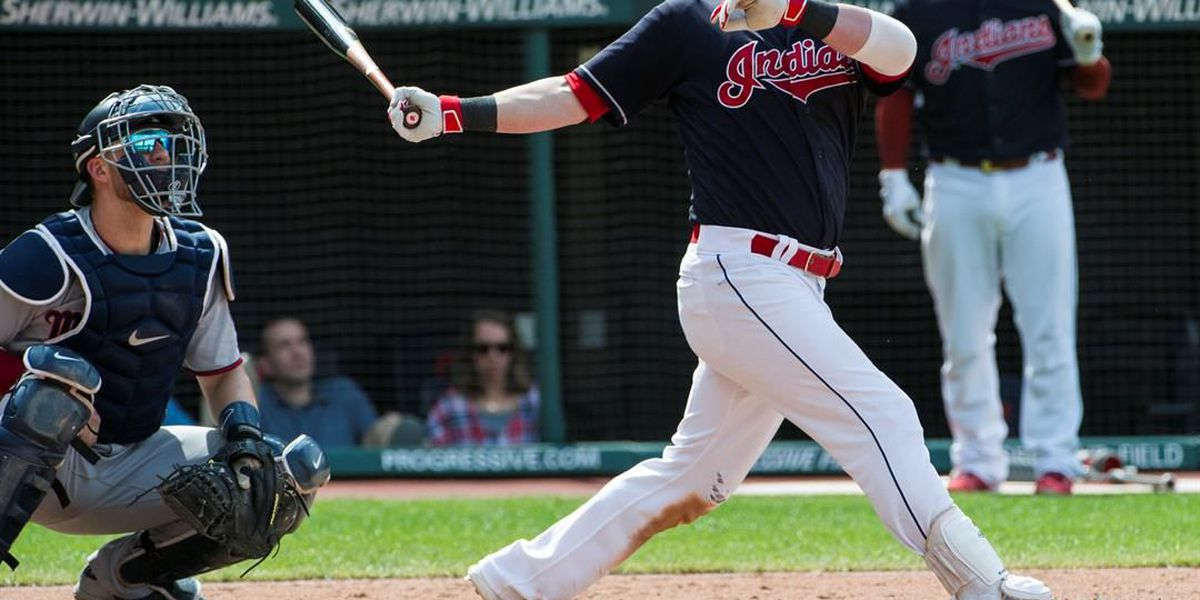 Kipnis hits 3-run homer, sends Indians past Twins