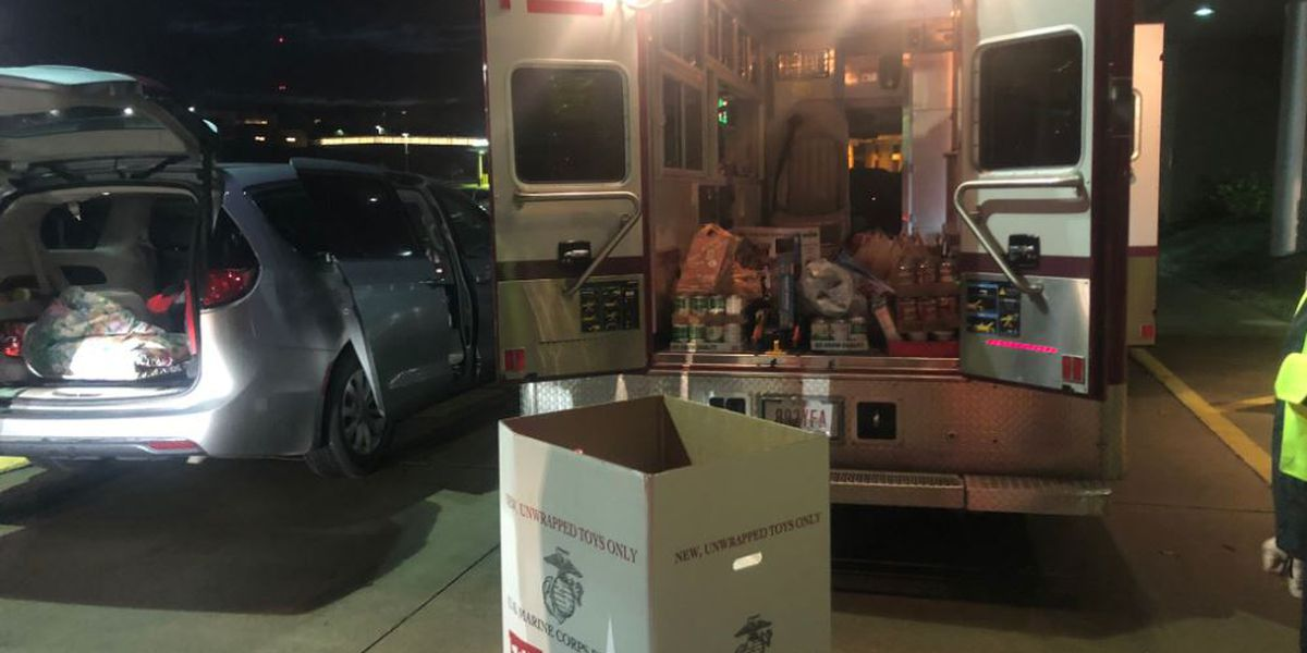 Fire Departments in Parma area collect toys for families in need