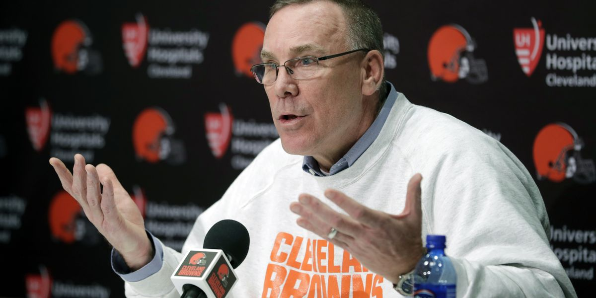 Cleveland Browns and GM John Dorsey 'mutually part ways' after disappointing season